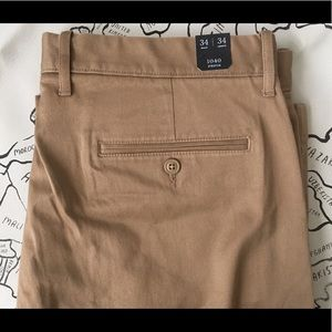 J. Crew Athletic-Fit Stretch Chino Pant , 34/34